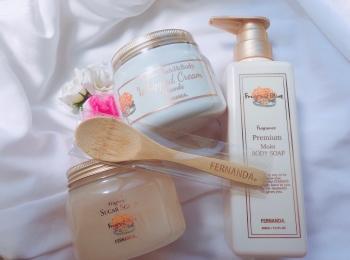 《いい女は香りから》最高のバスタイムを✨昨年即日完売のあの香り【FERNANDA・フレグラントオリーブコレクション】