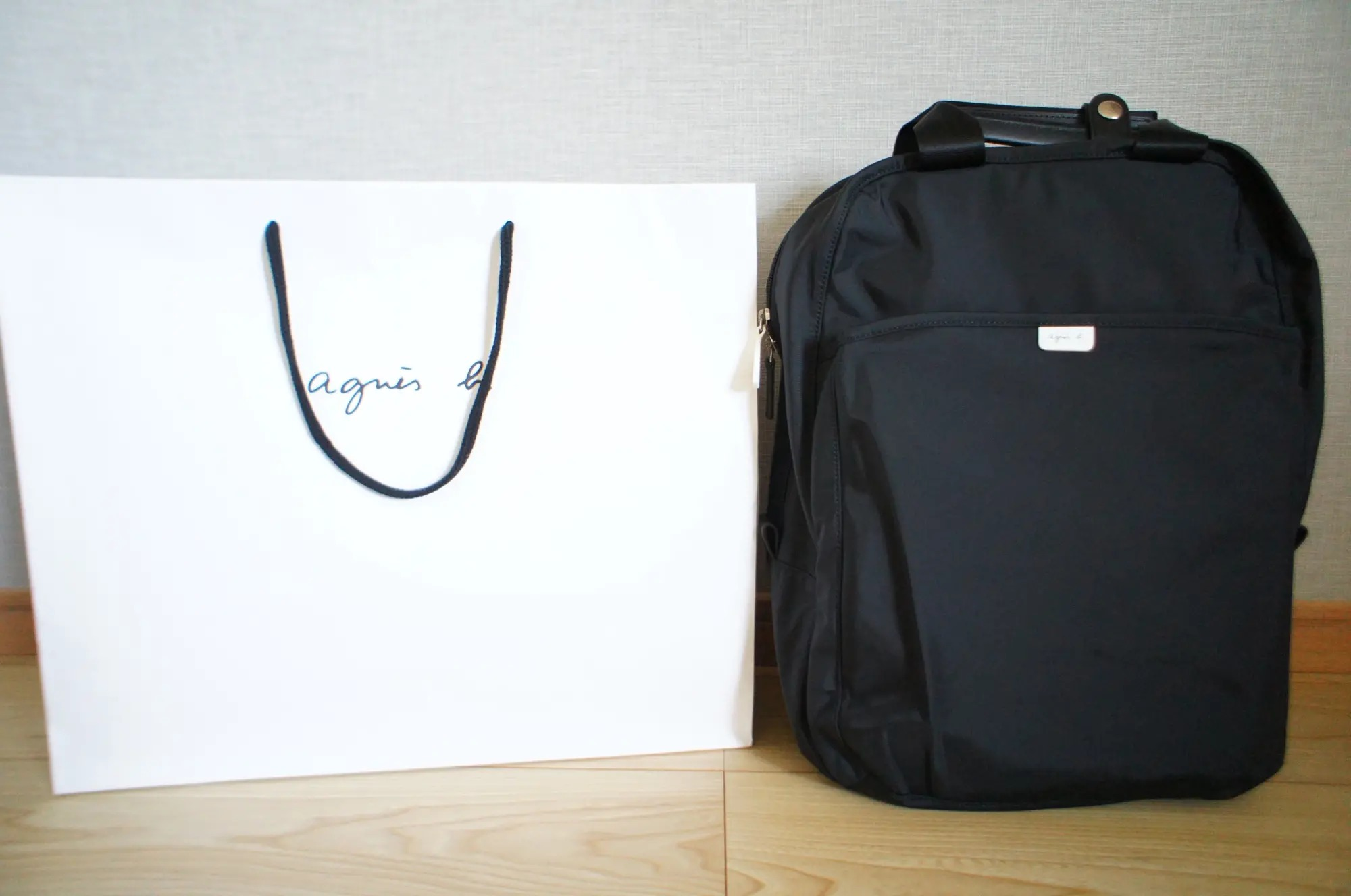 『アニエスベー』のリュックを通勤バッグに♪ ウェーブタイプ×ブルベ夏さんにおすすめ『GU』アイテム【今週のMOREインフルエンサーズファッション人気ランキング】_3