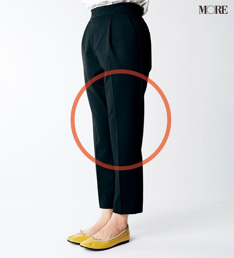 テーパードパンツ&フレアパンツ、どの靴と合わせるのがいちばんきれい? 全部の相性比べてみました!_4_3