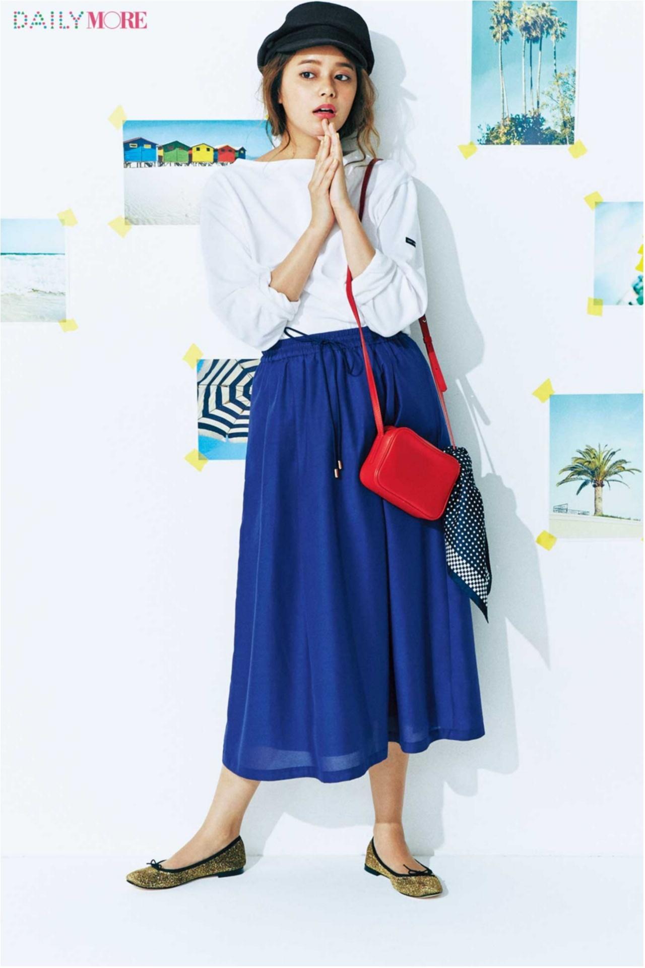 夏の好印象No.1カラー♪「ブルー」を使ったさわやかコーデまとめ♡_1_5