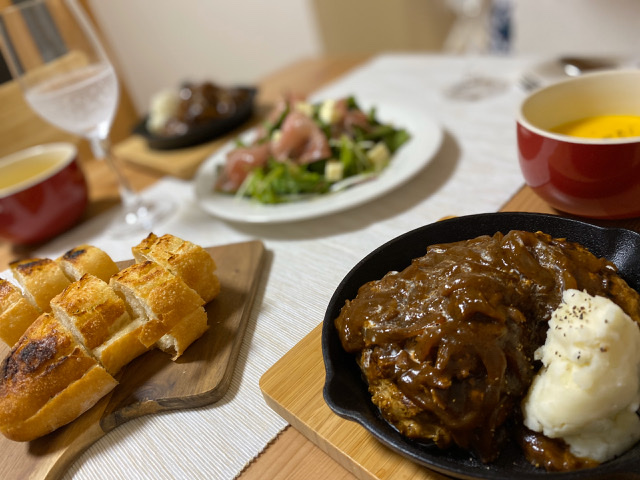 《おうちごはん》我が家の洋食と和食はこんな感じ♡_1