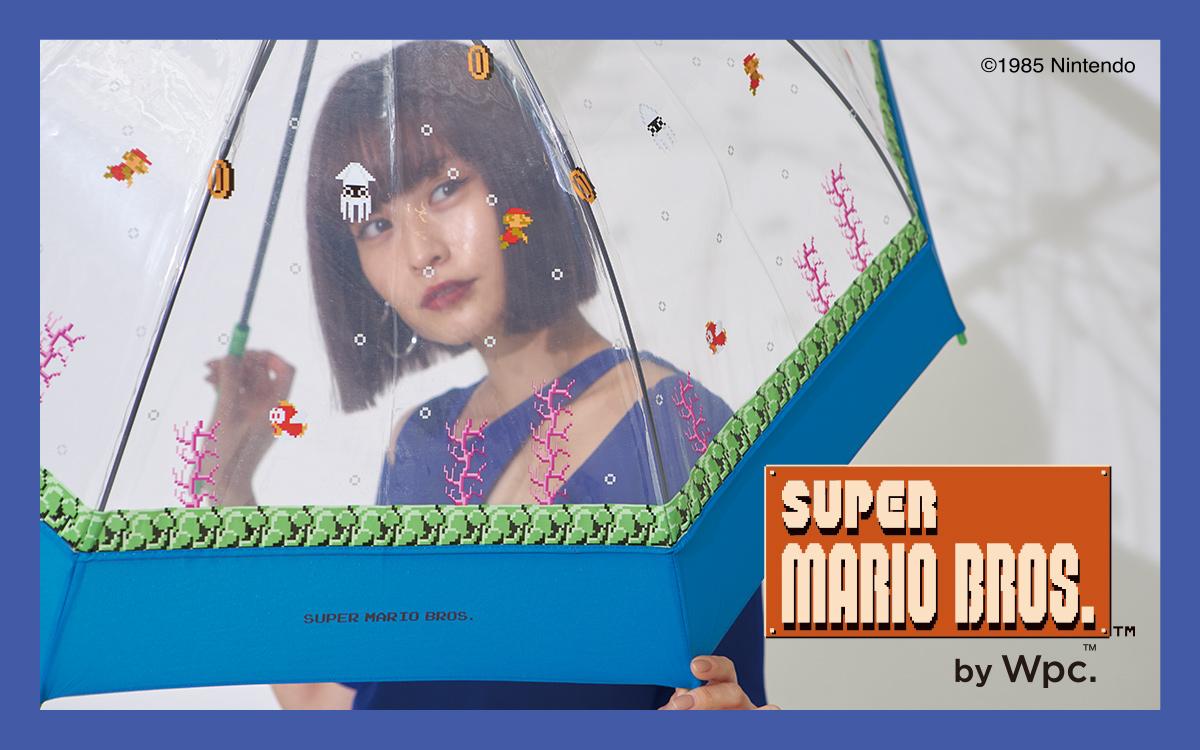 Wpc.のスーパーマリオブラザーズデザインのビニール傘