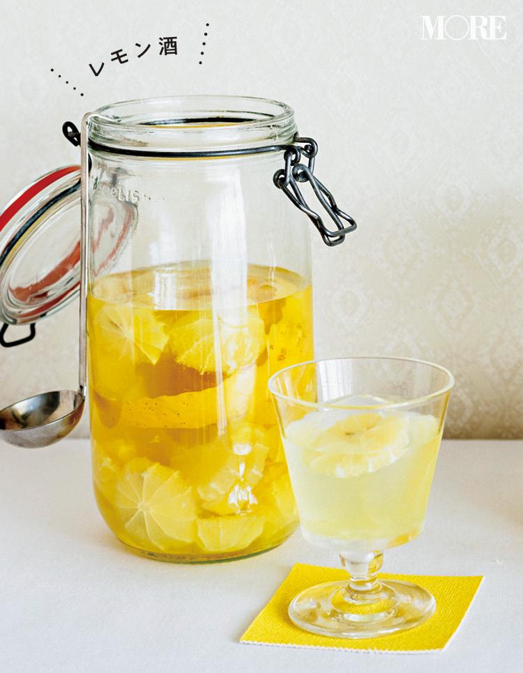 自家製の「レモン酒」「レモンシロップ」で乾杯! 簡単・おしゃれ・美味しいレシピ♡_4