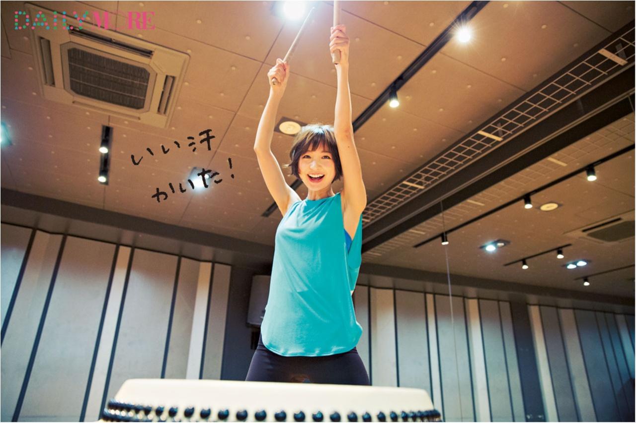 篠田麻里子と学ぶ、今話題の「和太鼓レッスン」の楽しみ方【麻里子の「和」コトハジメ】_2