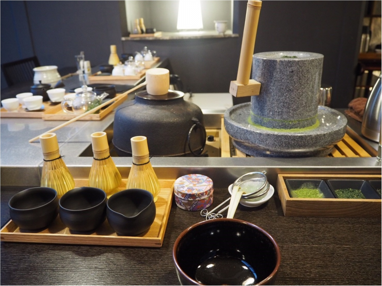 宿泊者は無料で楽しめる♡【碾茶(てんちゃ)と抹茶体験 】で浜松のお茶を堪能~♡【星野リゾート 界 遠州】_2