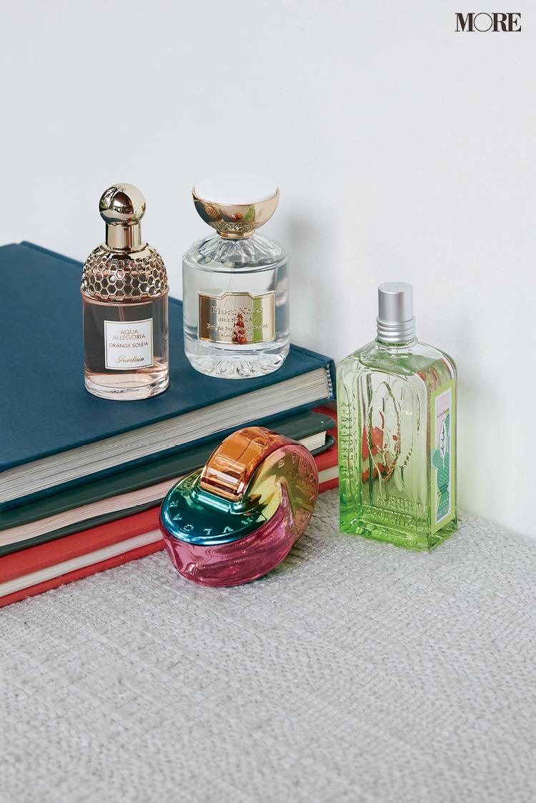 ロクシタンとジルスチュアートとブルガリとゲランの香水