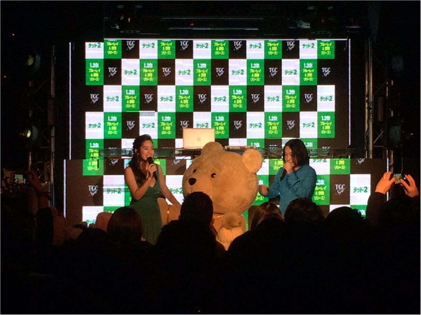 筧美和子さんも登場!「ted2」リリースパーティに潜入! _2