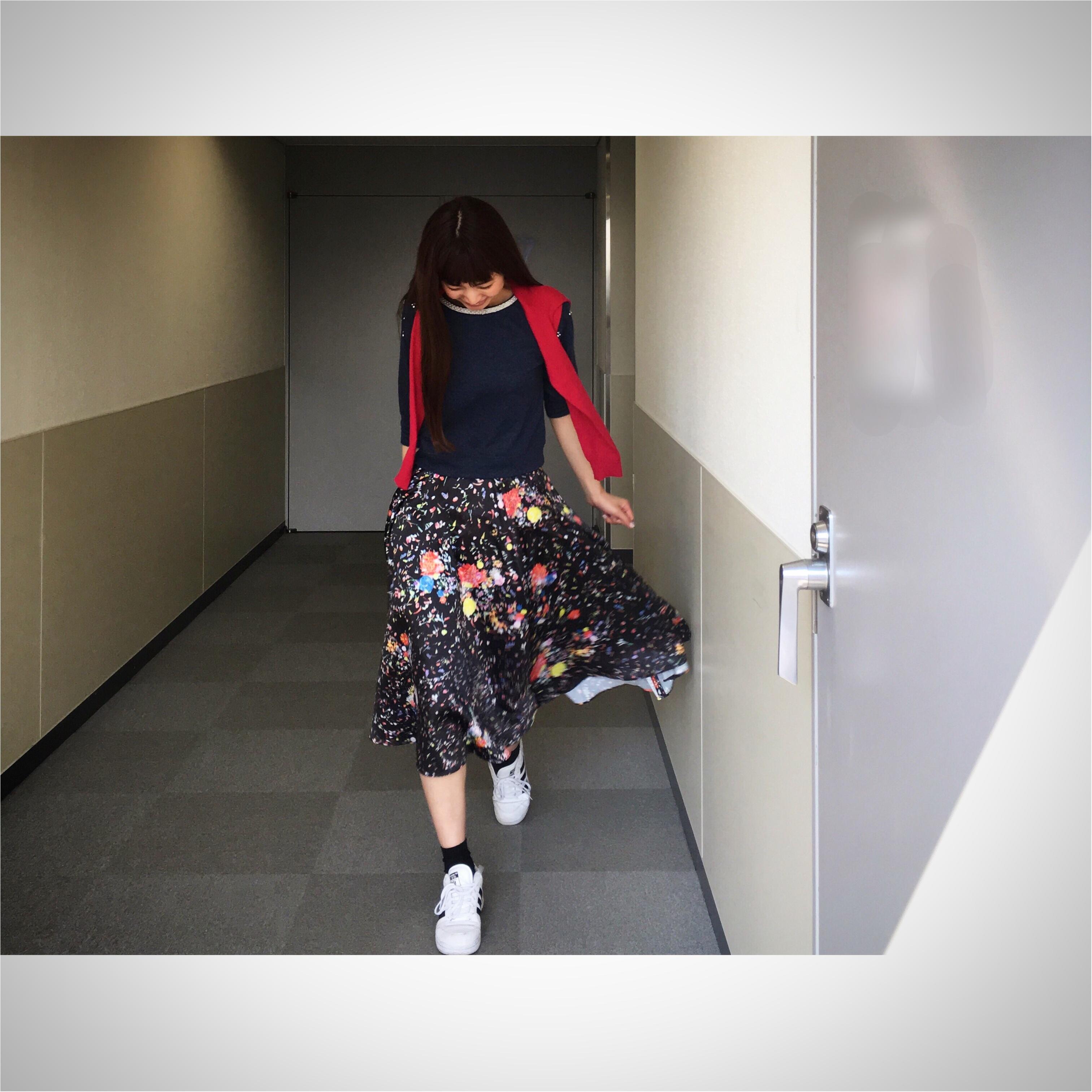 ★adidasのスニーカーを使って昼のお花見コーデと夜のお花見コーデ★_3