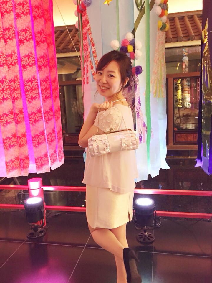 【目黒雅叙園の魅力】全身花コーデで祝う❤️友人の結婚式\(^o^)/_14