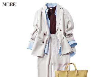 『GU』ならジャケットもパンツも3990円以下! 仕事のやる気も恋も加速する着回し20日目