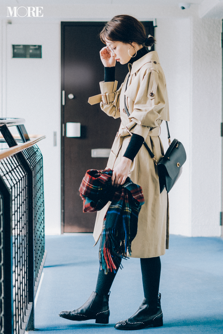 トラッド風に遊び心を取り入れた大人可愛い【冬のチェック柄】コーディネート | ファッション_1_52