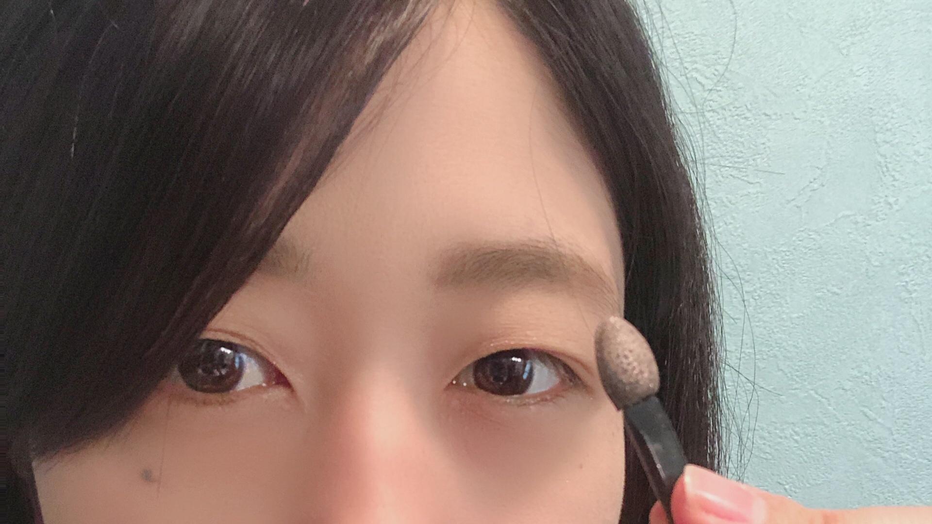 実践!白石麻衣ちゃんオレンジブラウンアイメイク術_3