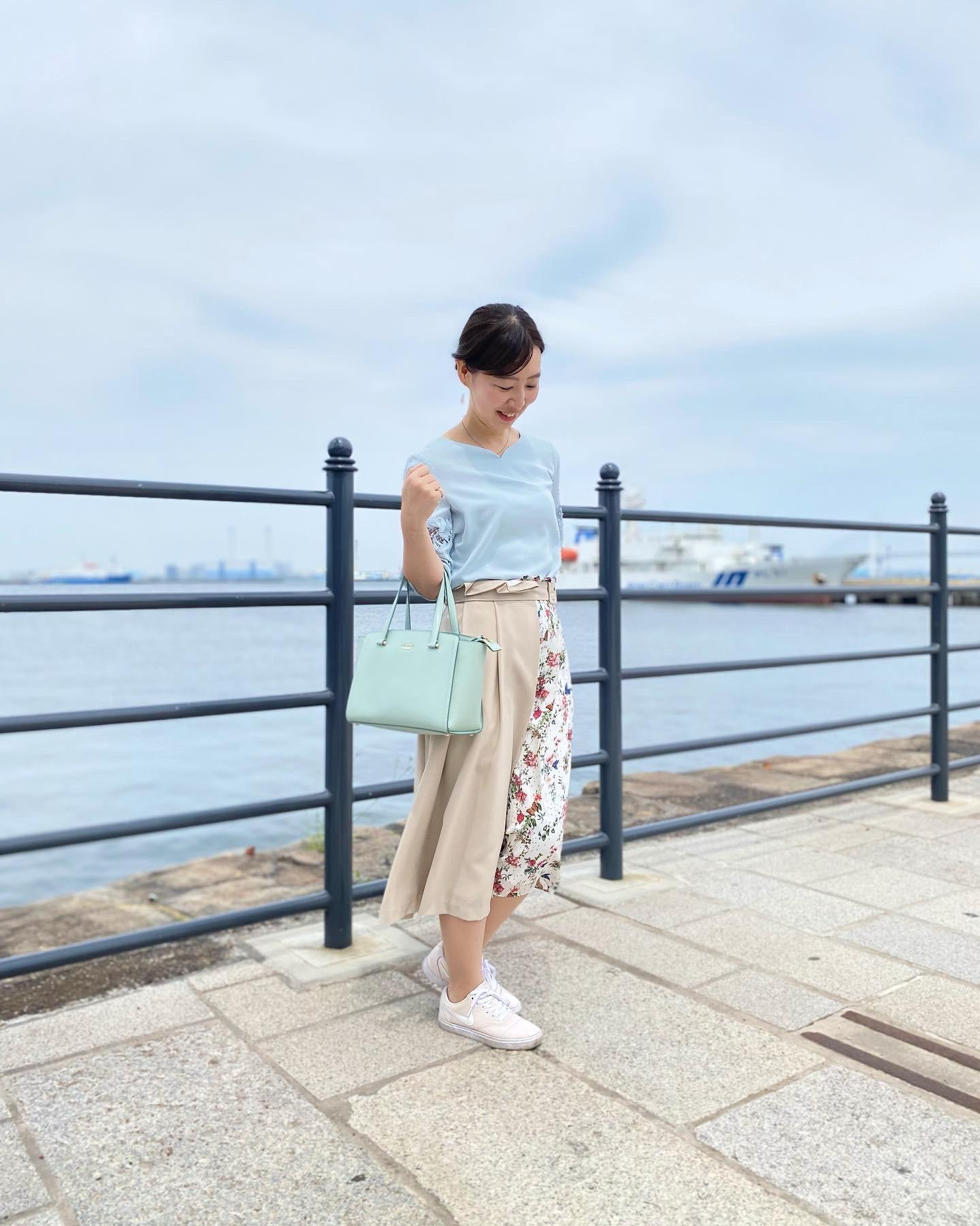 女子アナがよく着用しているTONALでお散歩コーデ_3