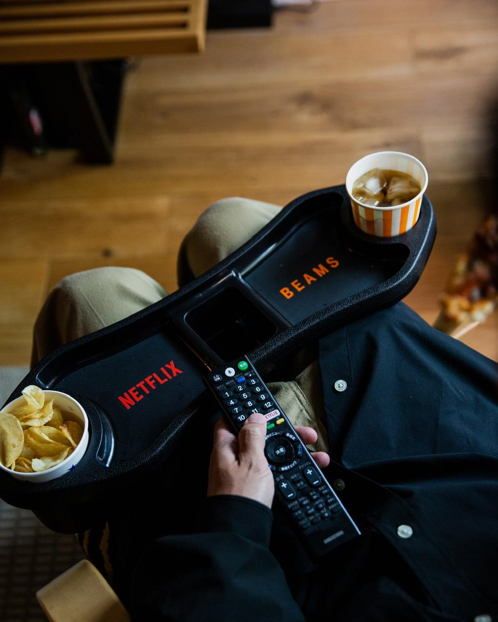 Netflix × BEAMS KNEE REST TRAY