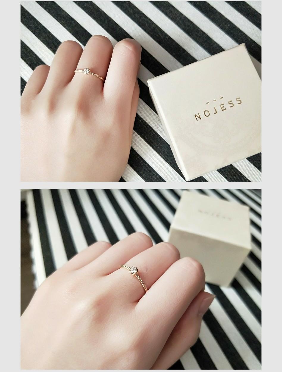 【NOJESS代官山店】ニューオープン記念した限定商品の一粒ダイヤリングを購入♡_3