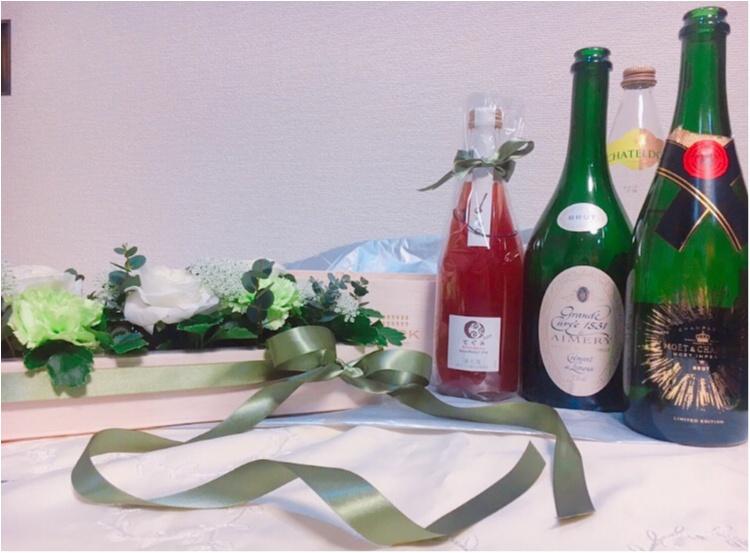 【around27の贈り物】特別な人への贈り物に!『CORK』のフラワーワインボックスがかわいい♡♡_7