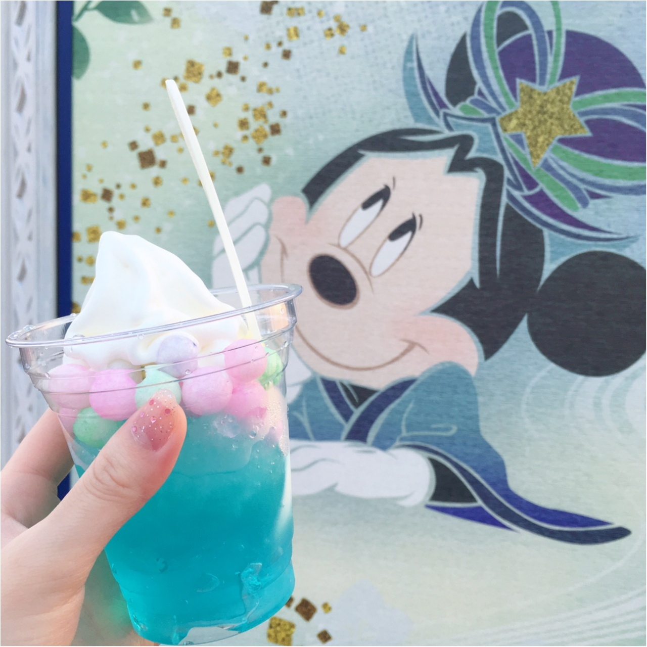 七夕限定♡ディズニーリゾートの《クリーム・シェイブアイス》がフォトジェニックでおいしすぎる!_1