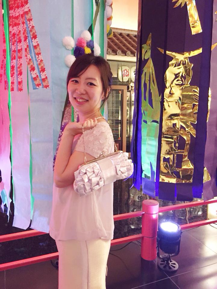 【目黒雅叙園の魅力】全身花コーデで祝う❤️友人の結婚式\(^o^)/_2