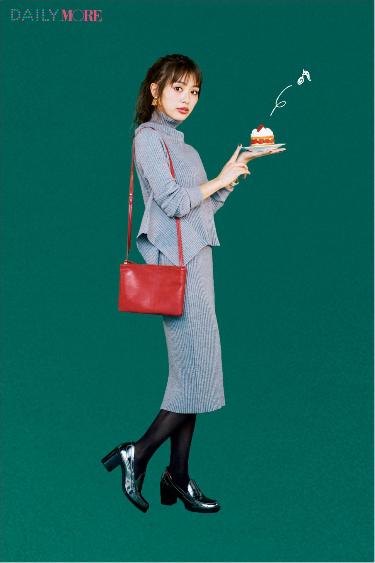 モデルは内田理央! 「普段の自分を2割増しに見せてくれる」女子会服、教えます!【オールインワン・ニットアップ編】_4