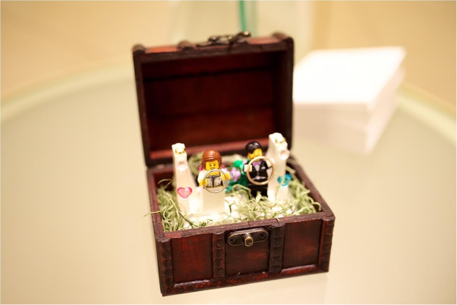 【花婿DIY】男性でも出来た!簡単なのに、おしゃれに見える!レゴリングピローの作り方_4