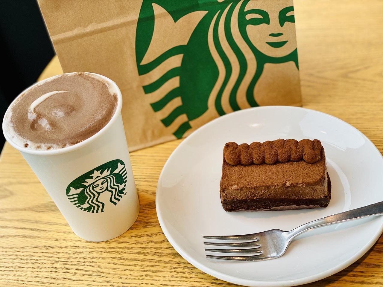 【スタバ】絶対食べたい!新作バレンタインケーキ《デザート ザ ショコラ》が超絶美味♡_1
