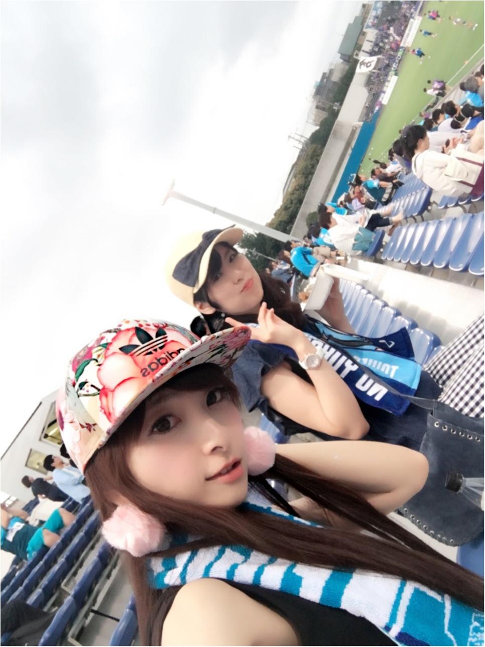 ♡【サッカー観戦】横浜FCvs水戸ホーリーホック♡モアハピ◡̈のぞみ♡_11