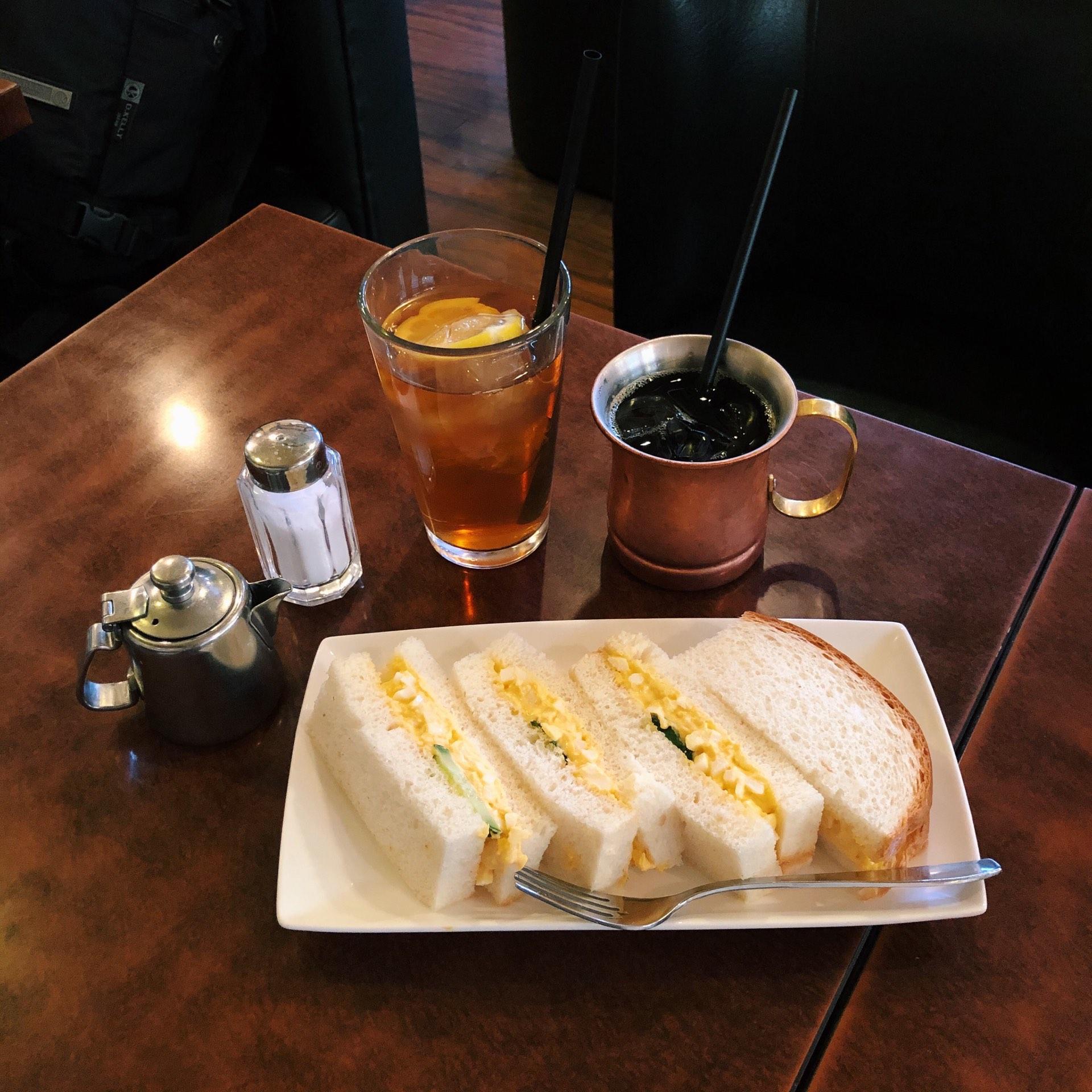 喫茶店友路有の玉子サンド画像