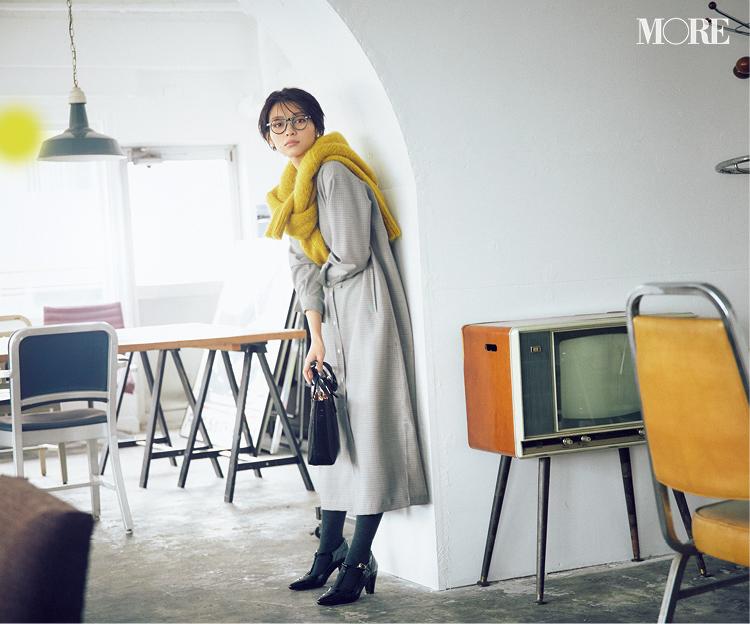 身長156cmのスタイリスト・大平さんが教えます! 冬の旬アイテム、こう着ればSサイズ女子でも好バランス♡_2