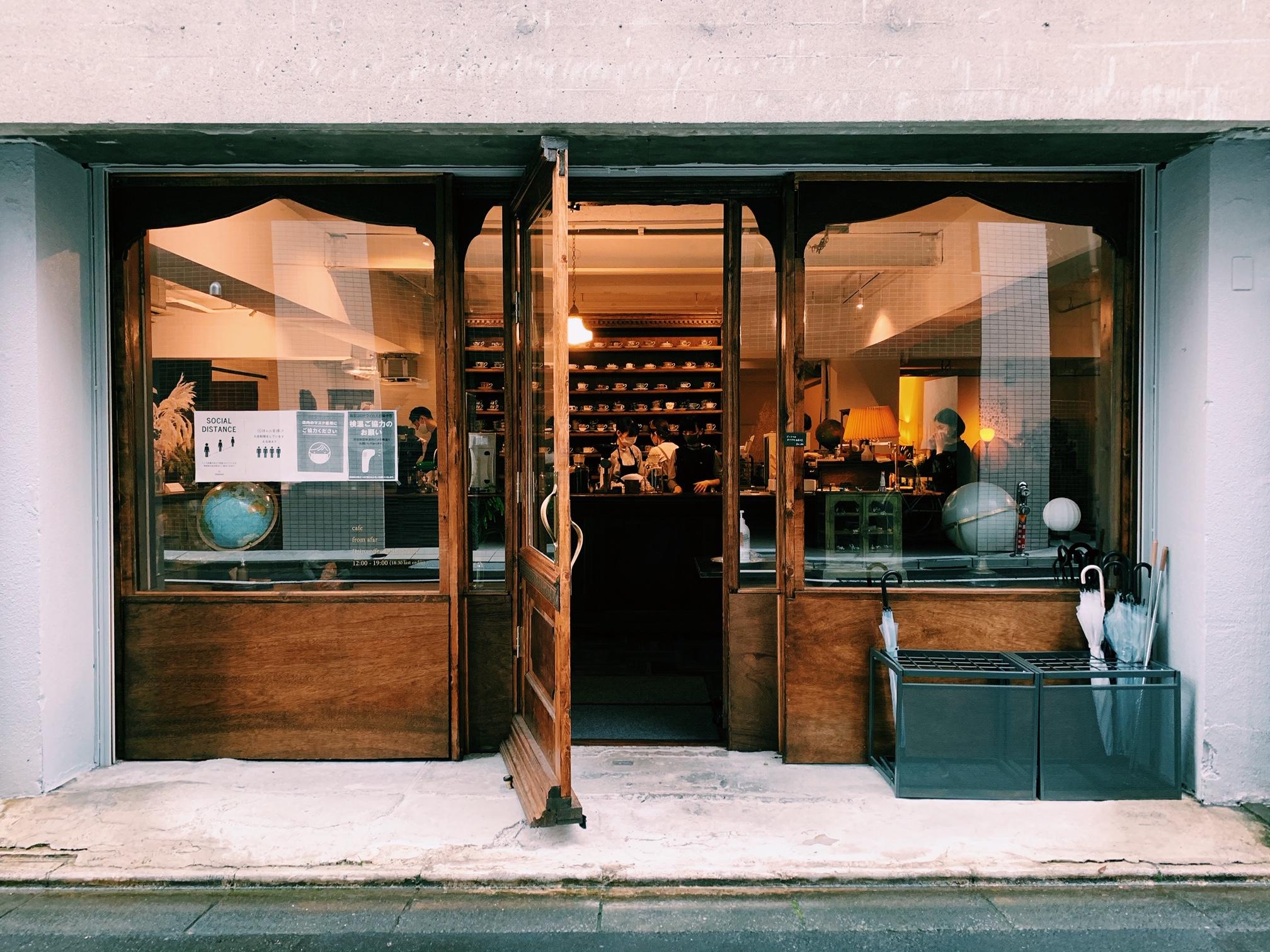 【おすすめカフェ】扉を開けると《お花×アンティーク》の素敵空間♡_2