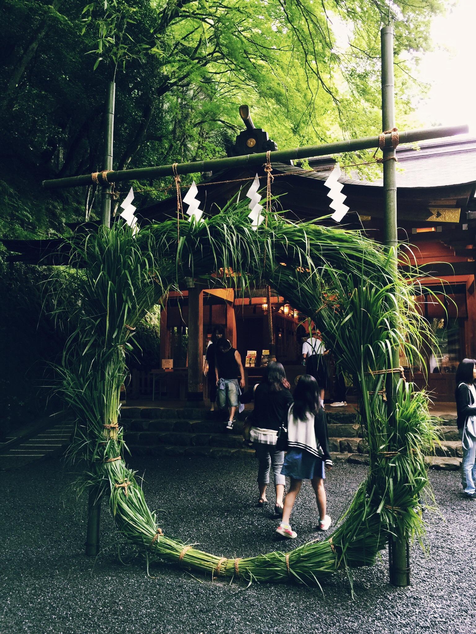 貴船神社で茅の輪くぐり。2015年は、あと半年もあります!byマツジュン_3