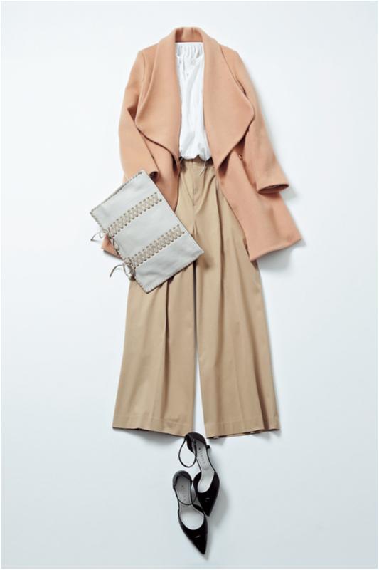 【2月に買って4月までずっと着る!】篠田麻里子のブラウス着まわし×3_2