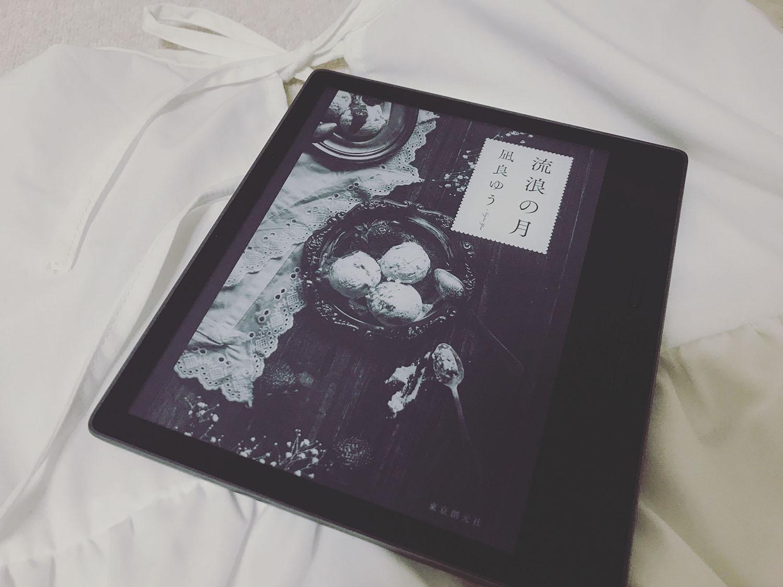 「流浪の月」の表紙(kindle)とワンピース