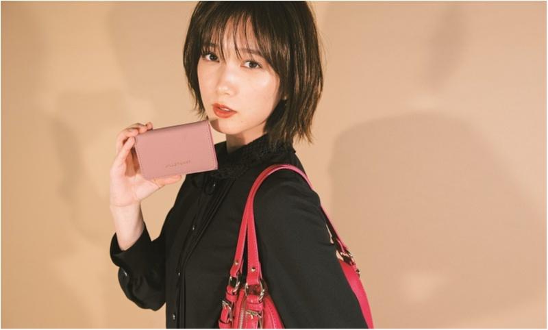 【NEWS】モア11月号の付録は『ジルスチュアート』の三つ折り財布!! ピンクとネイビーから色が選べます♪_1