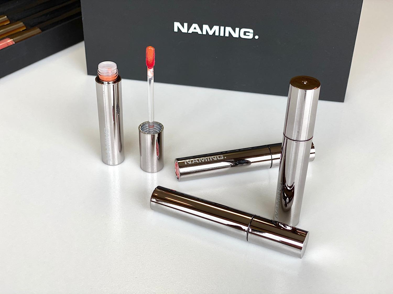 韓国コスメの『NAMING.』の「デュイグロウリップティント」はガラス玉のようなツヤがつくれるツヤタイプのティント