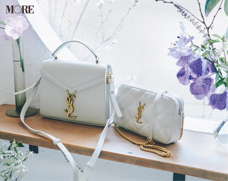 『サンローラン』と『セリーヌ』のバッグはブランドロゴもご自慢♡ 令和2年にお迎えしたいとっておき!_1