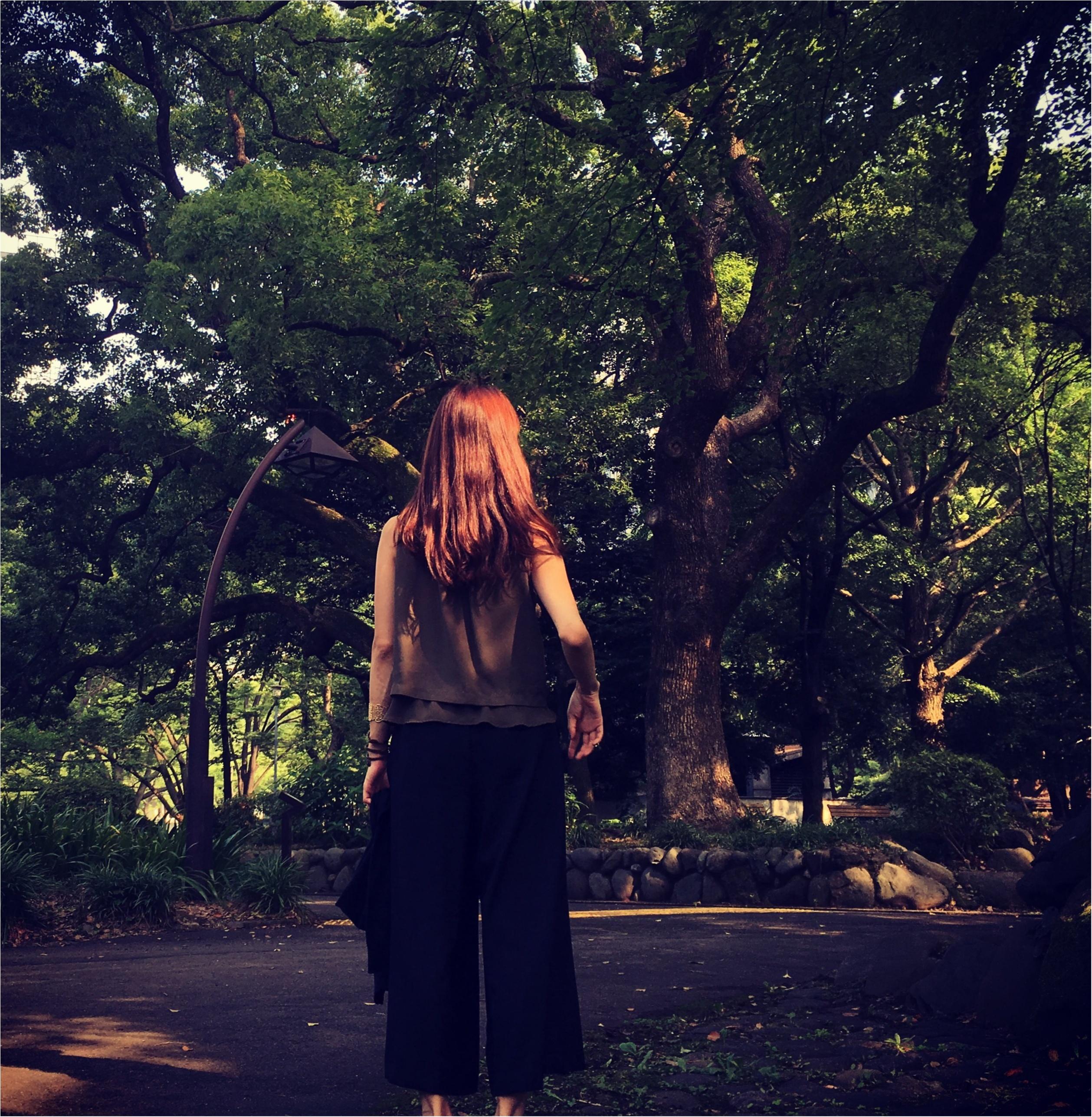 ▶︎▶︎今週の〈フルーツセルフネイル〉とカーキ×ブラックコーデ【はるな】_4
