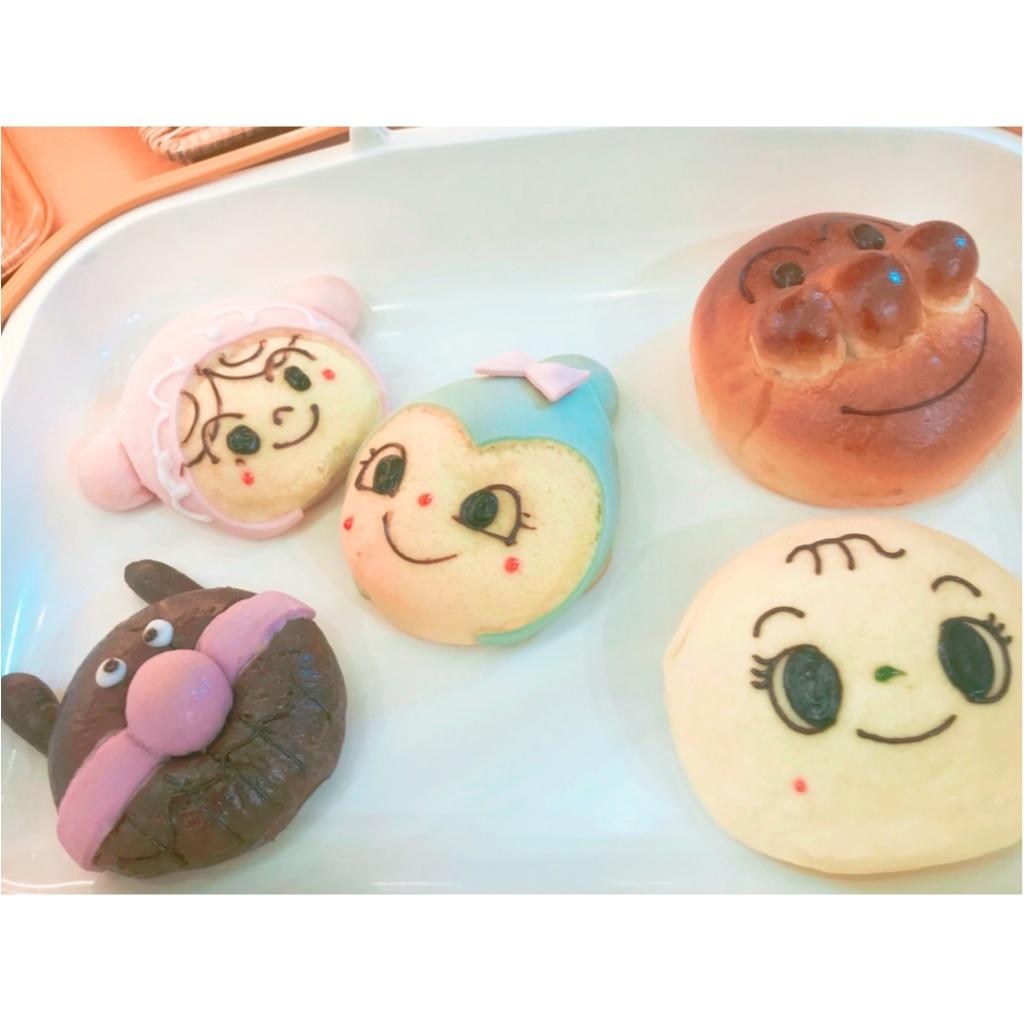 食べるのがもったいない!《 アンパンマンミュージアム 》で可愛すぎるキャラクターパンをゲット ♡_6