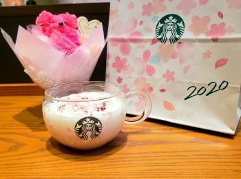 【スタバ《さくら》】ドリンクもマグカップもコーヒーもピンクでかわいいを紹介♡