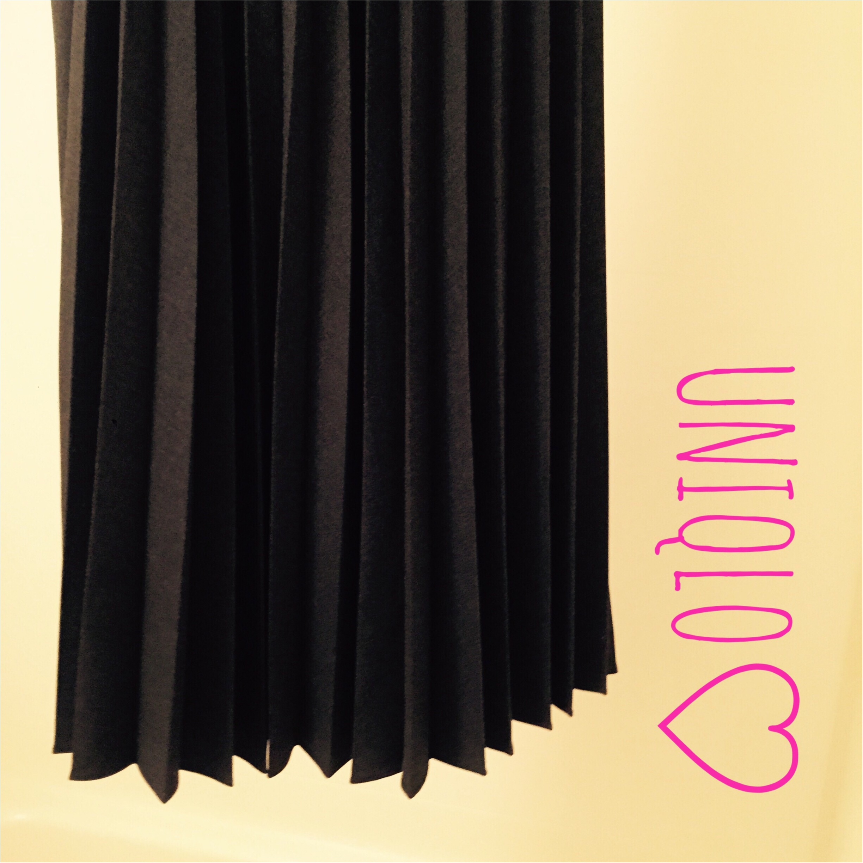 UNIQLOのプリーツスカートがオススメ!素材感がプチプラ感ゼロ♡_2