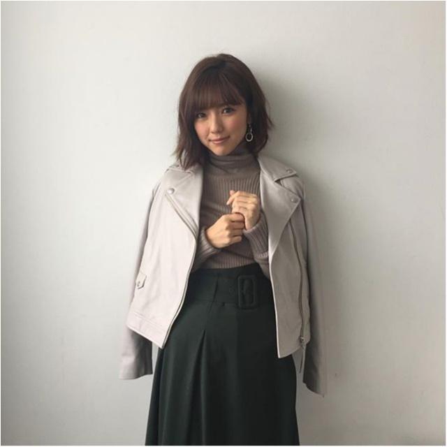 女優・真野恵里菜さんの笑顔がかわいすぎる♡【MORE12月号 撮影オフショット】_1_2