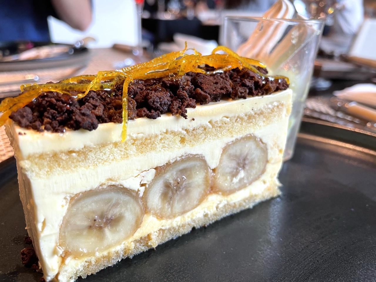 濃厚で大人な味わい。ラム酒薫るバナナのバタークリームケーキ_1