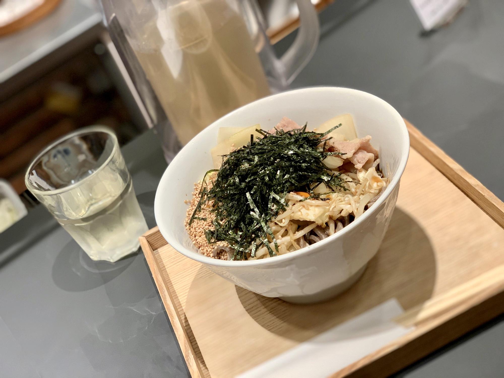 《東京駅直結❤️》新丸ビル地下【酢重正之 楽】で絶品!蕎麦ランチ☻_2