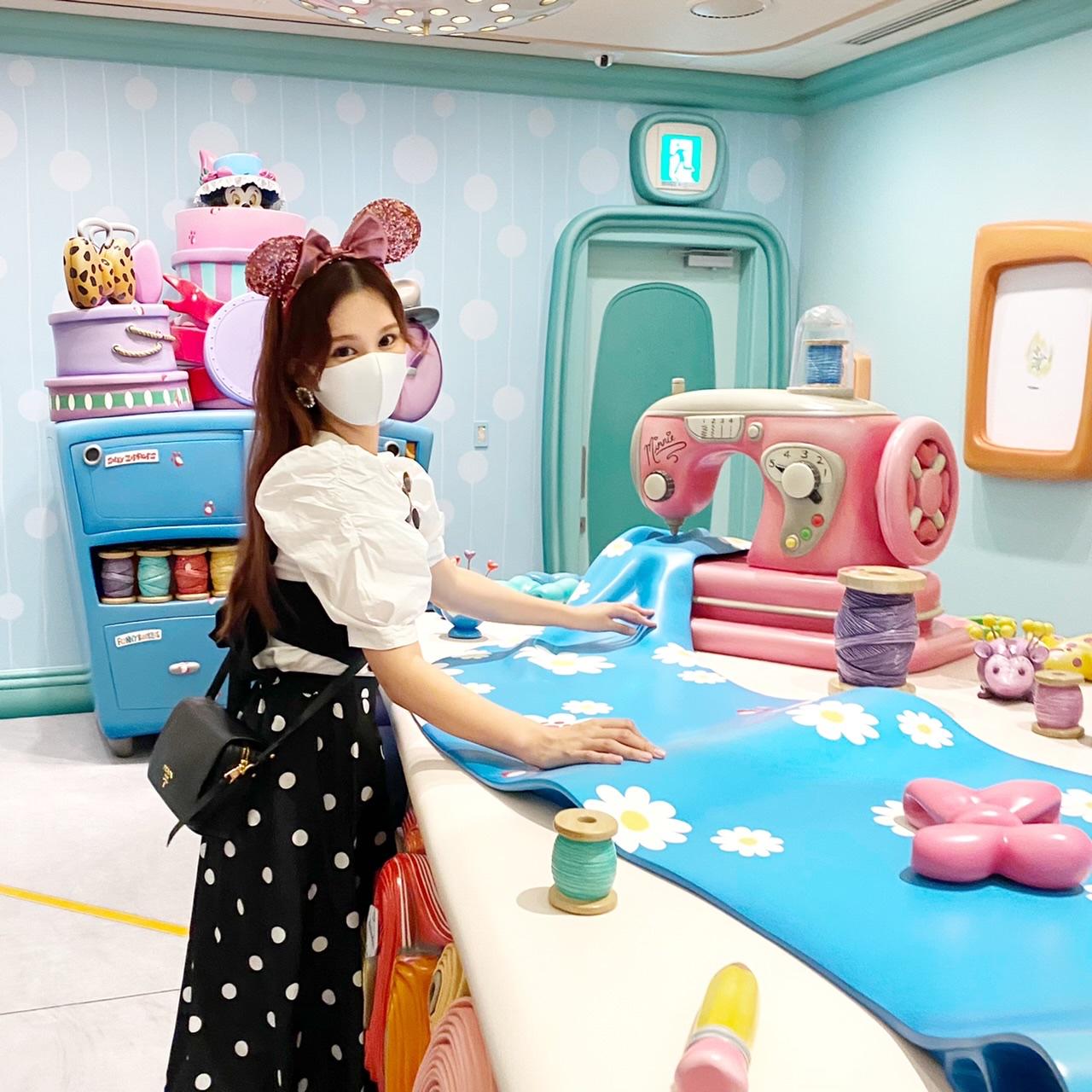9月28日オープン!ディズニー新エリア【ミニーのスタイルスタジオ】大公開♡_11
