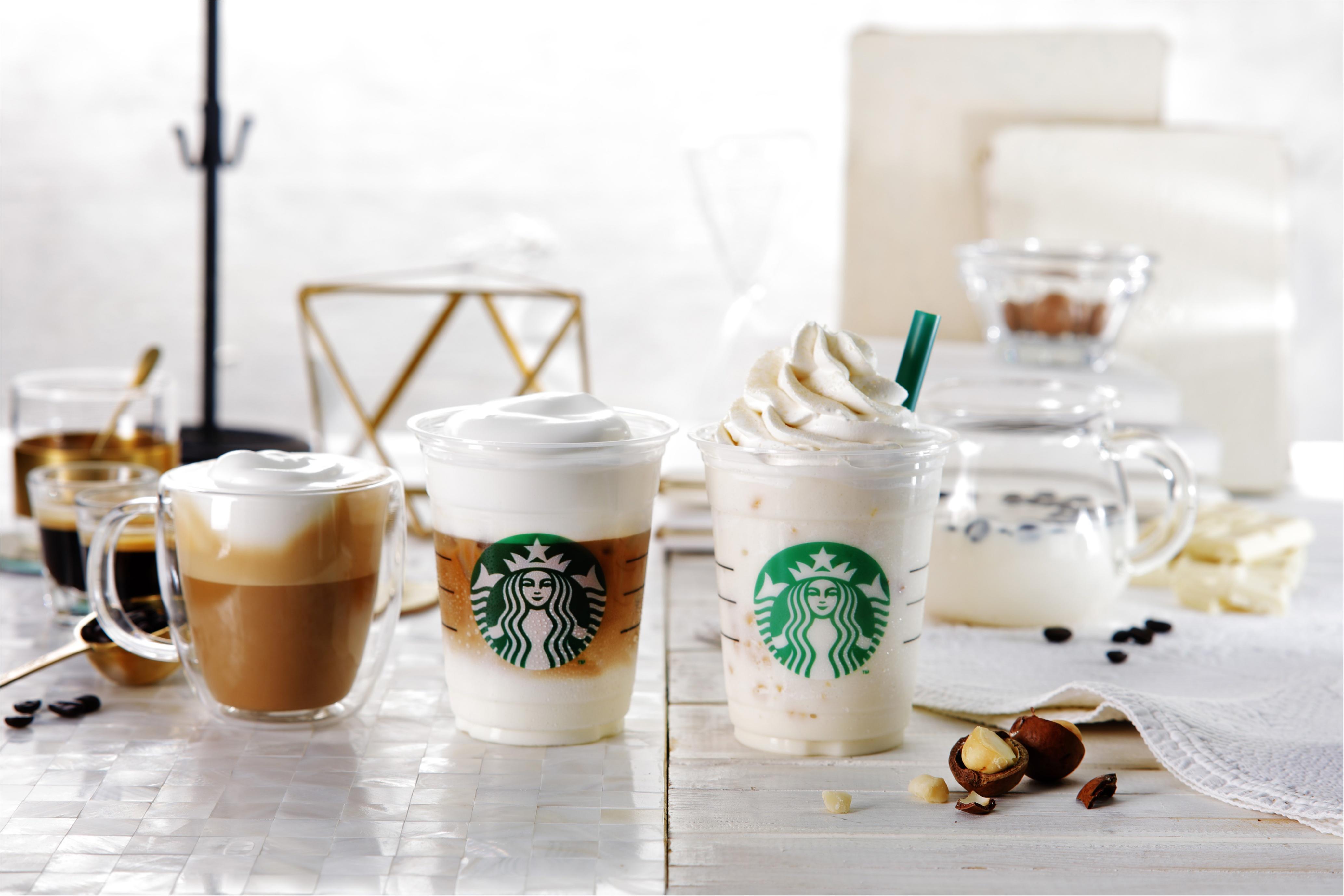 【スターバックス速報】コーヒーなのに白い!? 3/15(木)から「白いコーヒー体験」が始まる♡_1