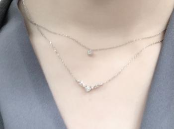 【韓国アクセ】ホテルデルーナのIUちゃんとお揃いネックレス♡