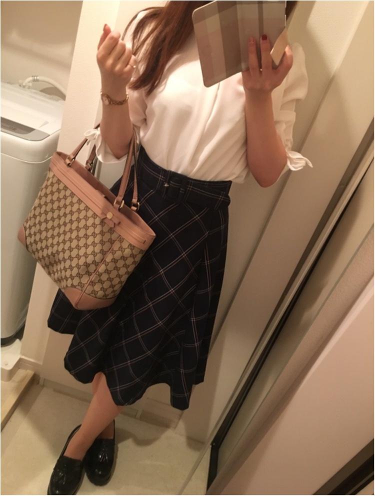 今年の流行!♥ミディ丈スカートで作る♡通勤コーデ4選(っ´ω`c)♡_2