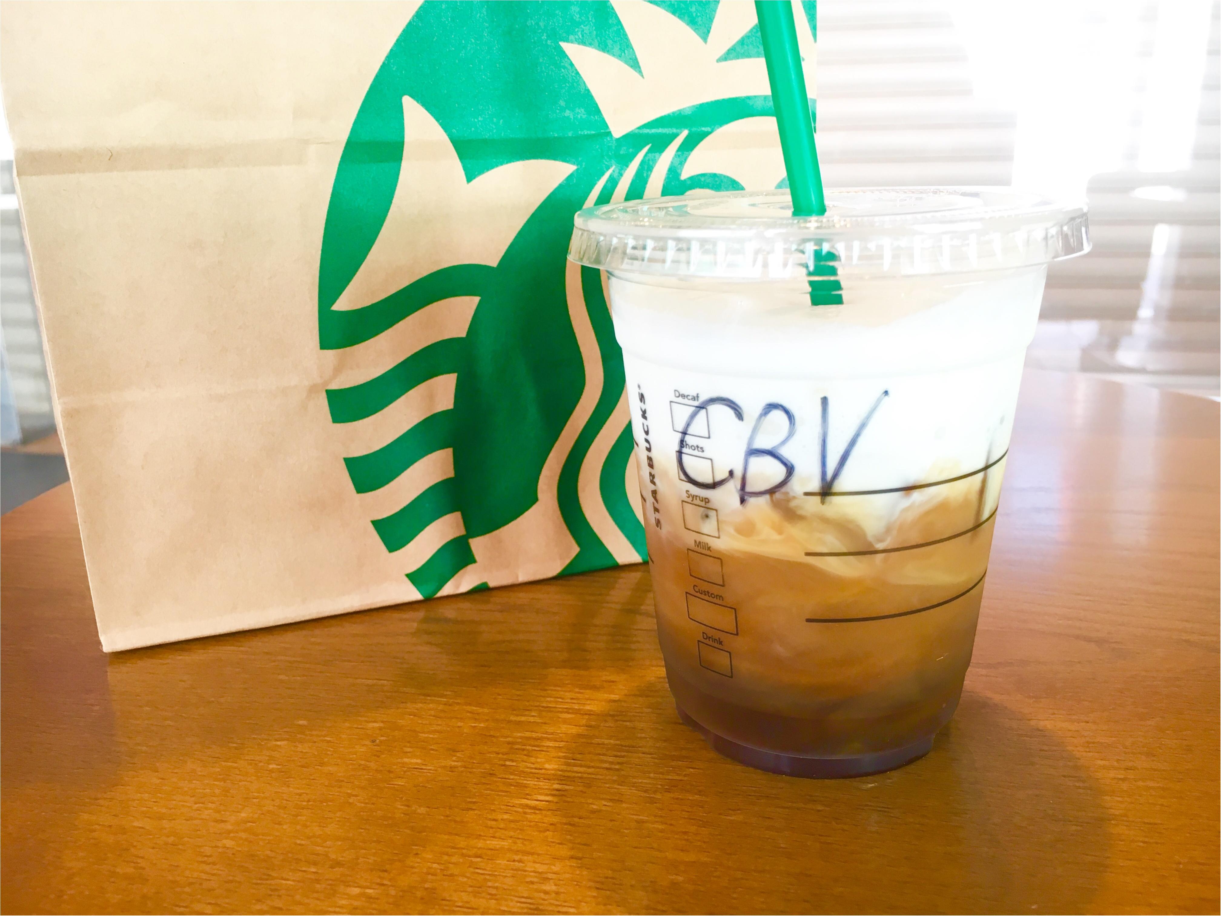【スタバ】こんなコーヒー有り⁈《新感覚アイスコーヒー》で素敵な朝を❤️_1