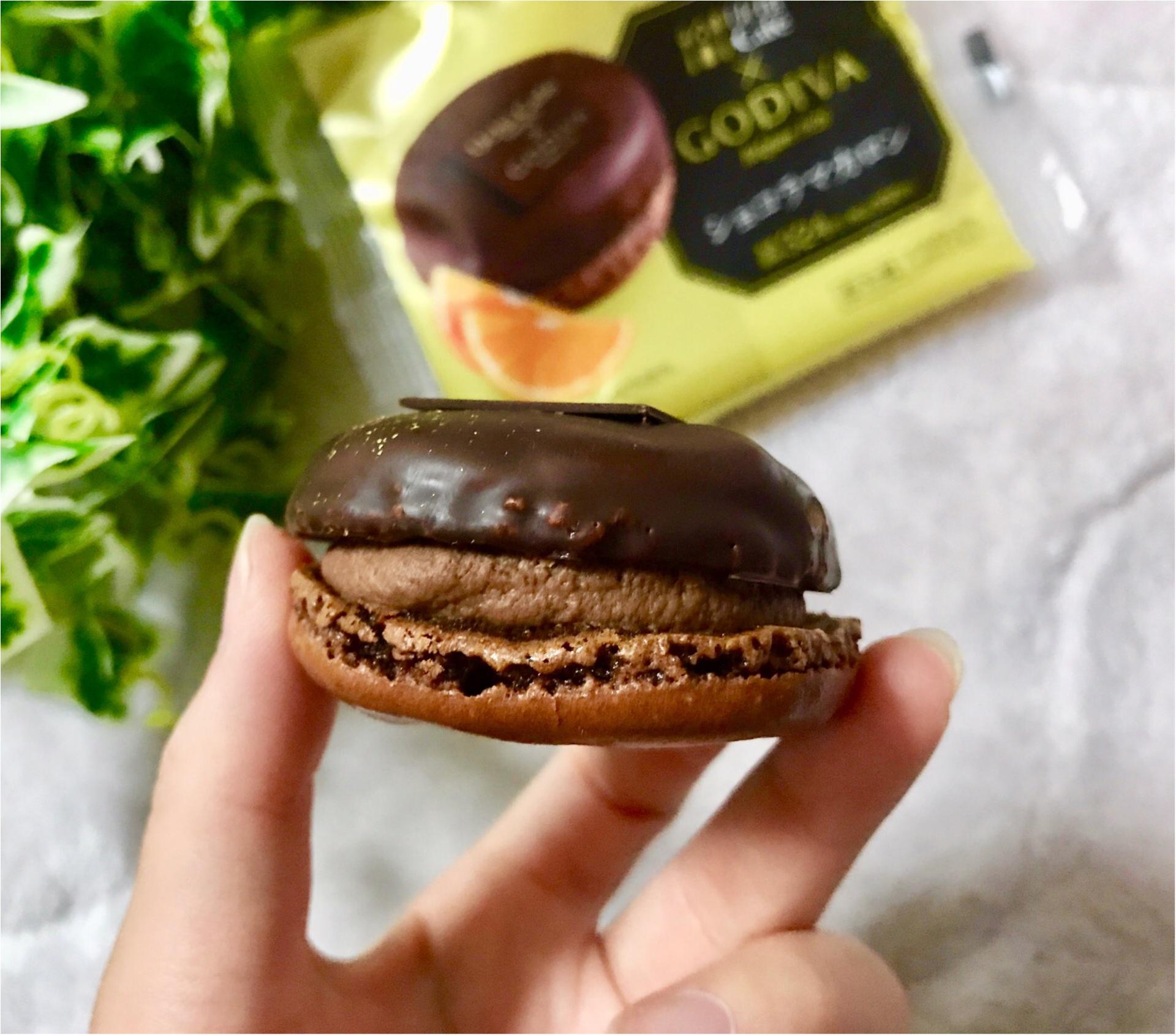 【Uchi Café×GODIVA】コラボスイーツ第6弾!チョコレート好きにはたまらない❤︎《ショコラマカロン》が美味♡♡_2
