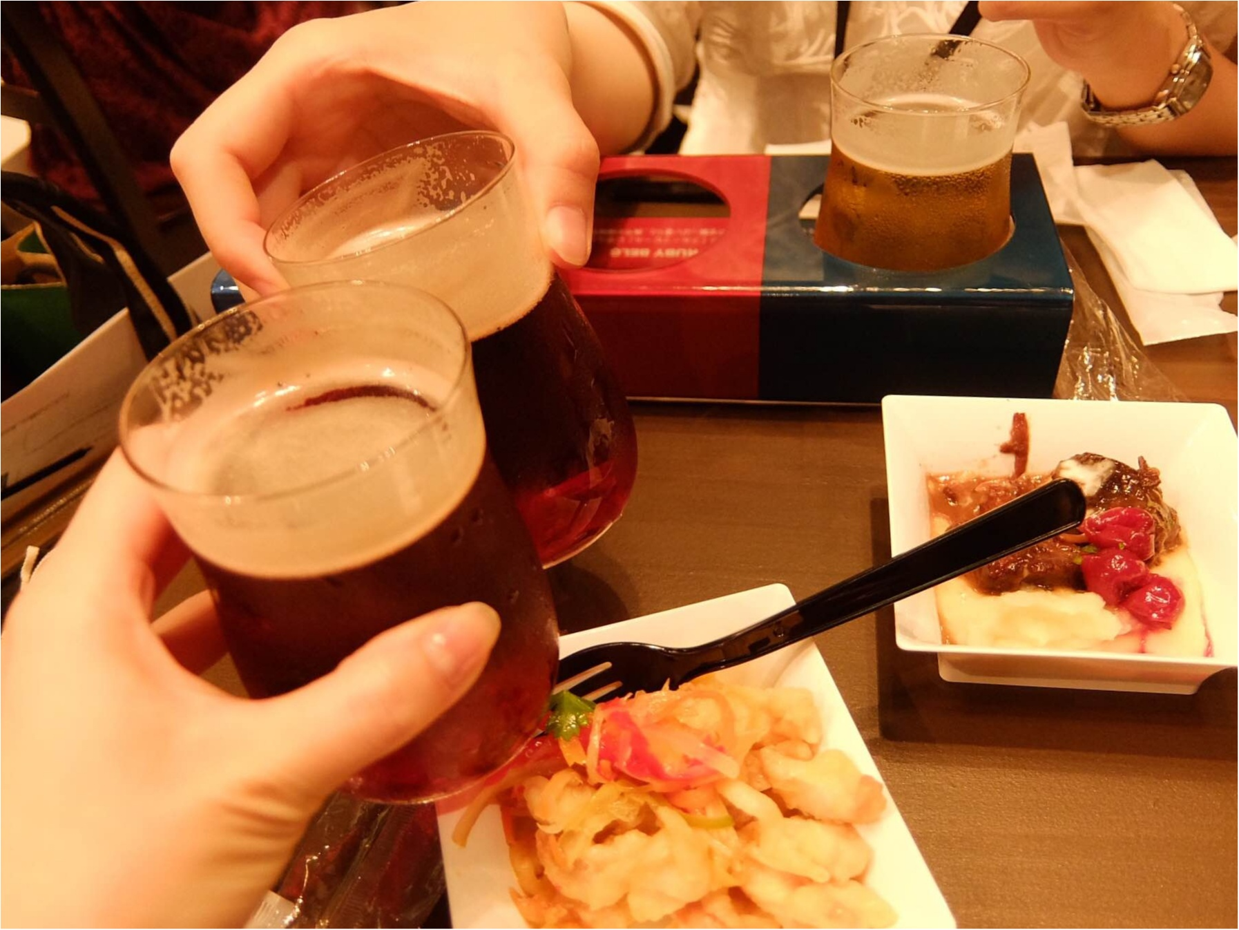 セシルちゃんもおすすめ!ホワイトベルグフェスで3種のお酒を飲み比べ♡_4