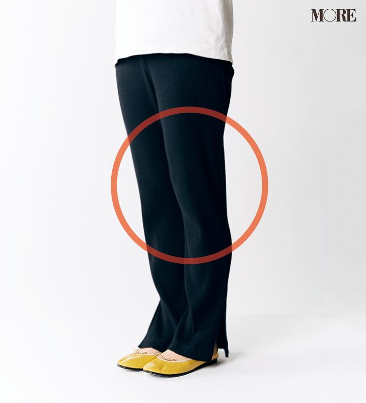 テーパードパンツ&フレアパンツ、どの靴と合わせるのがいちばんきれい? 全部の相性比べてみました!_6_5